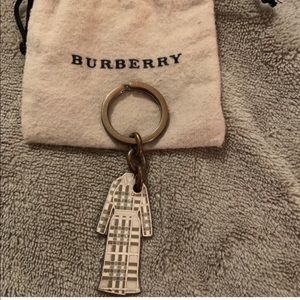 Authentic Burberry Keychain with Pouch